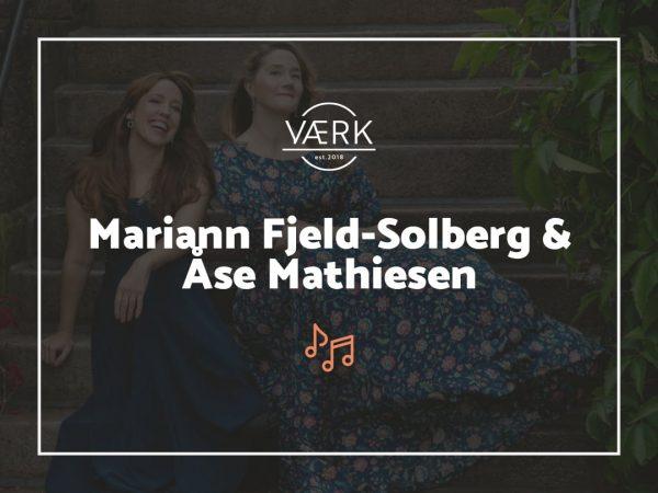 Konsert med Mariann Fjeld-Solberg og Åse Mathiesen - 2. oktober 2021