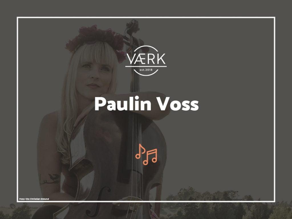 Konsert med Paulin Voss 9. juli 2021